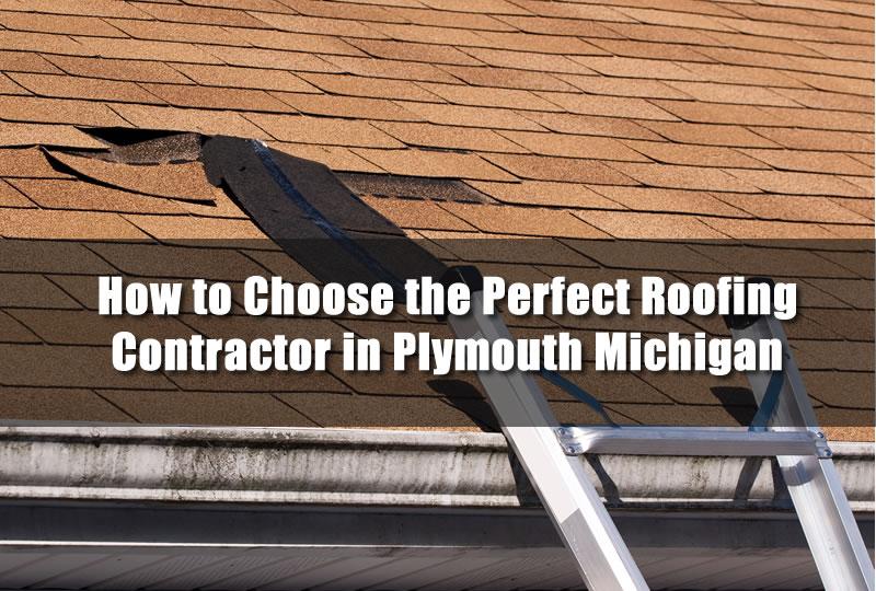 Roof Repair in Plymouth Michigan