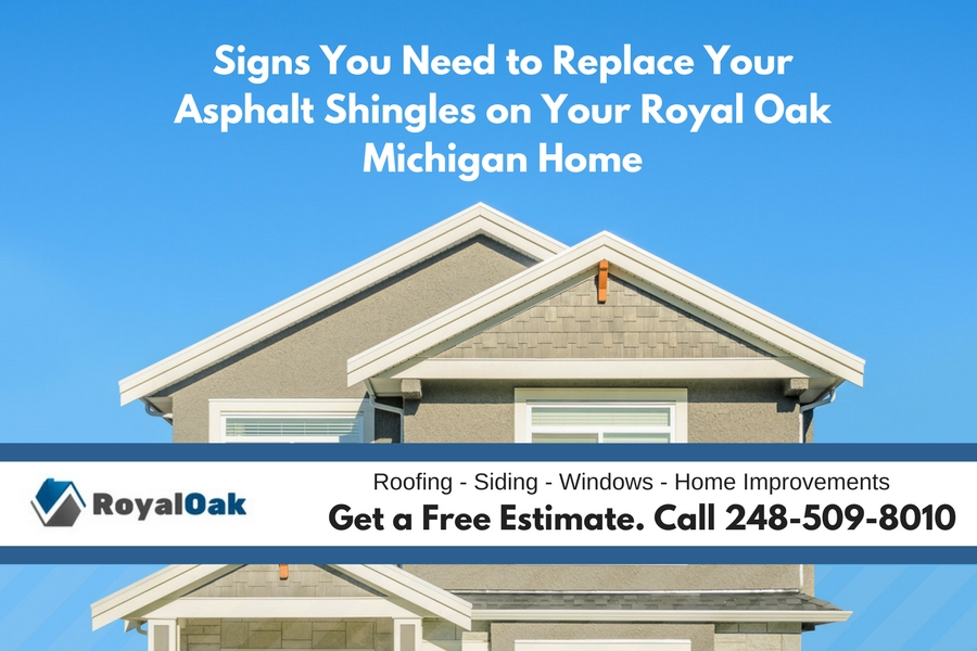 Signs you need to replace your asphalt shingles on your royal oak michigan homeg although you should not go onto your roof and inspect it yourself because you can cause more damage and its also very dangerous the roofing contractor may solutioingenieria Image collections