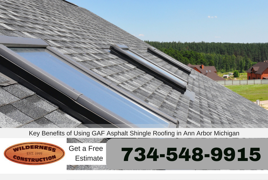Key Benefits of Using GAF Asphalt Shingle Roofing in Ann Arbor Michigan