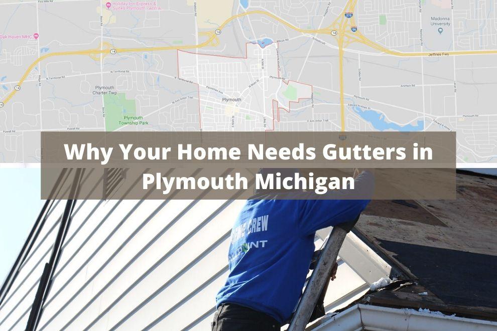 Gutters Plymouth MI