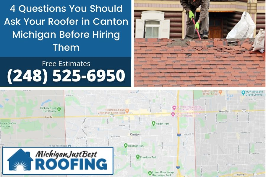 Roofer in Michigan