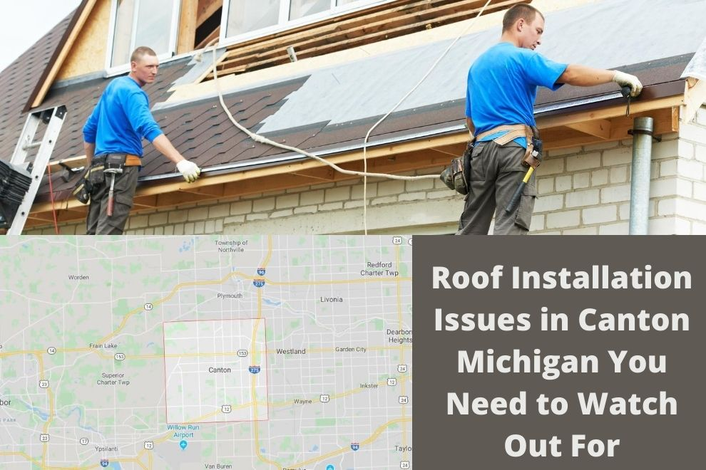 Roof Install Canton MI