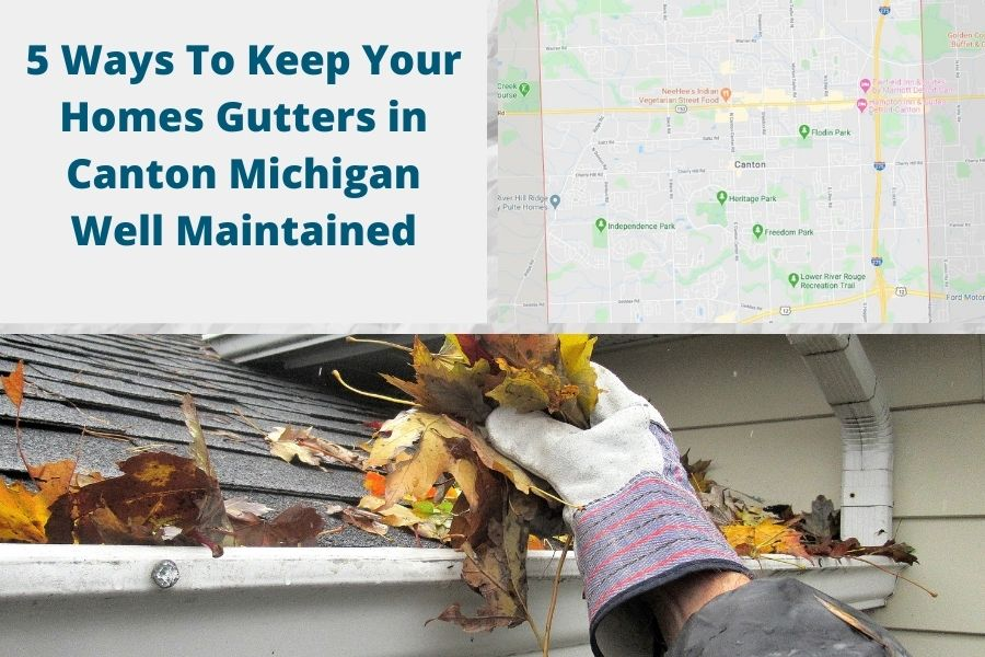 Roof Gutters in Canton MI
