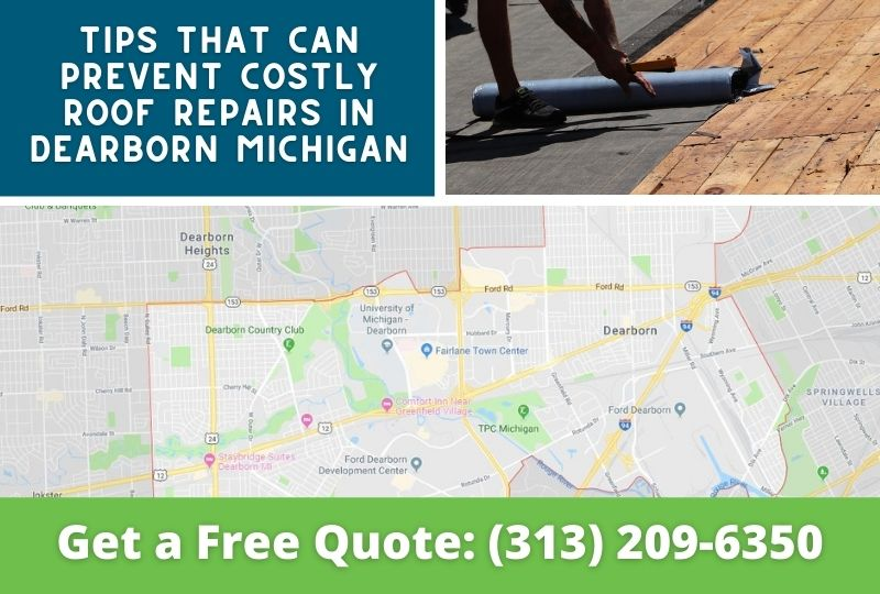 Roof Repair Dearborn Michigan